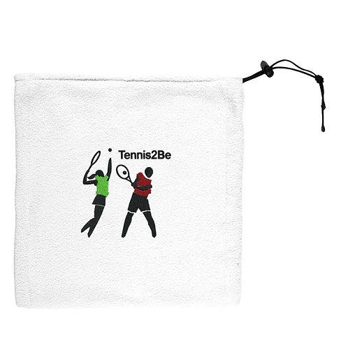 Tennis2Be white scarf, snood
