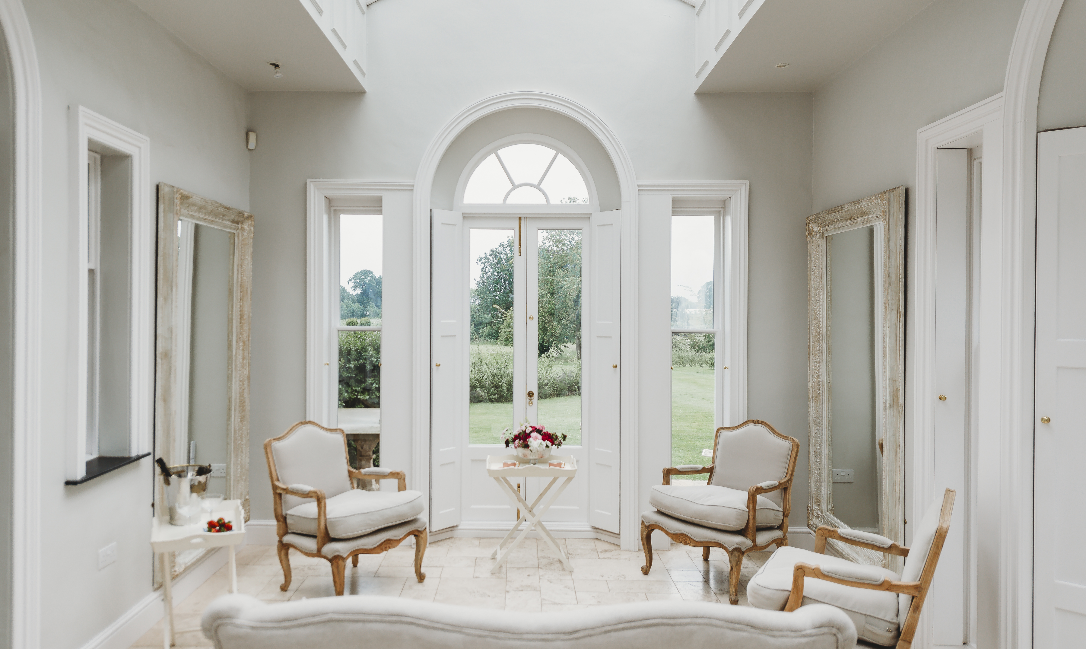 Bridal Orangery overlooking the Grounds
