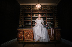 Bride in the Norwood Park Bramley Bar