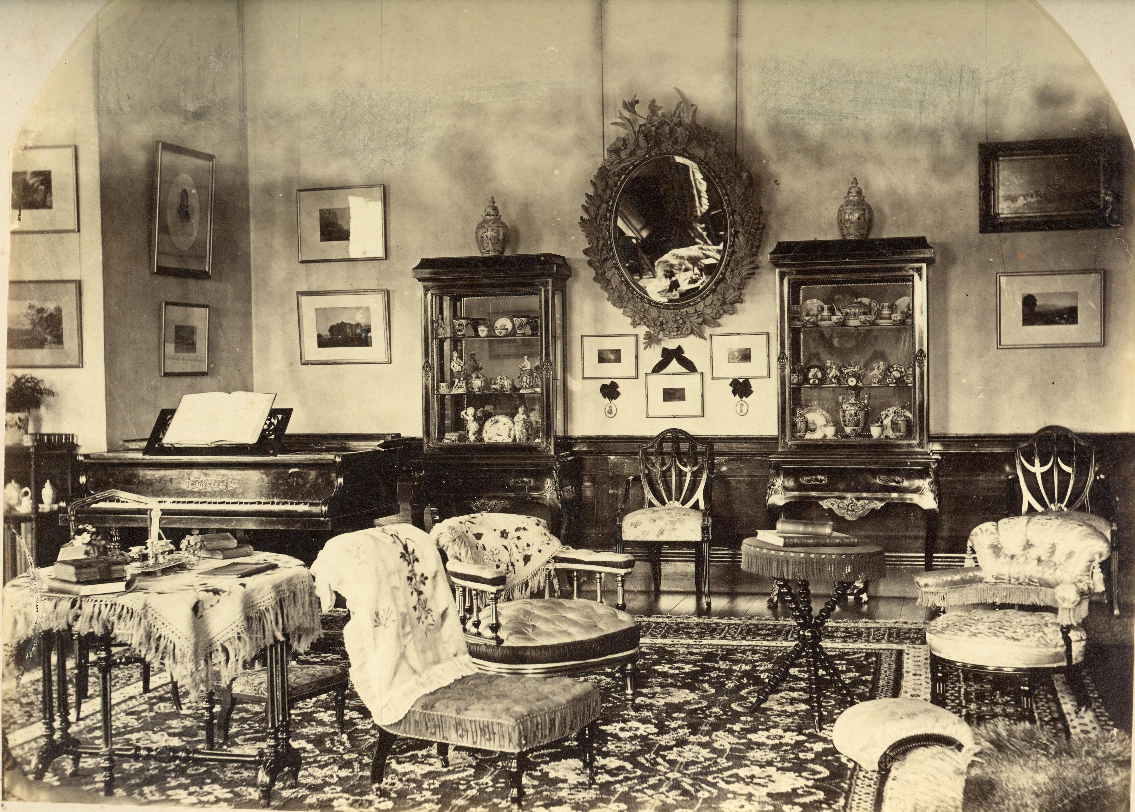Historic Drawing Room at Norwood Park