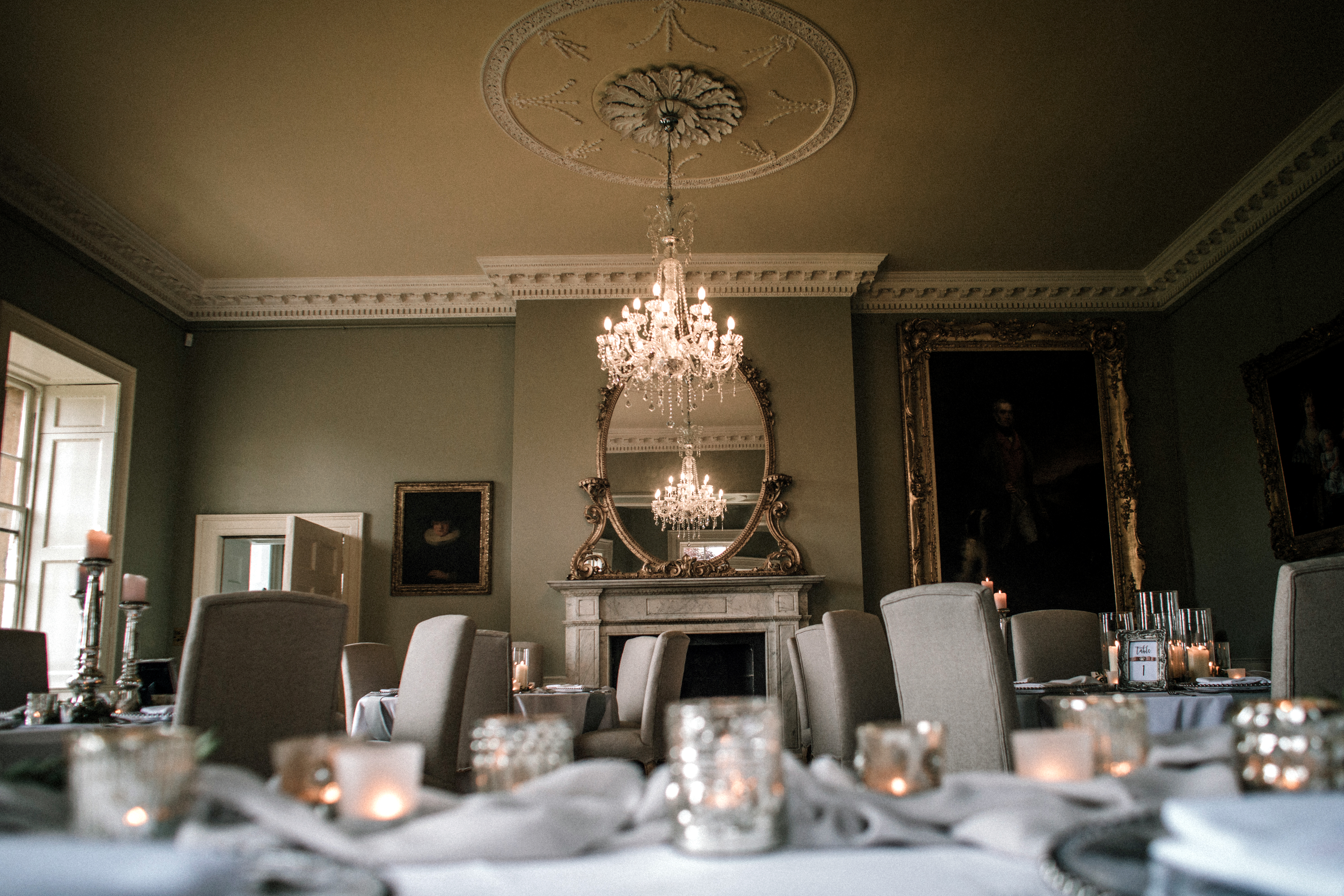 Dining Room at Norwood Park Summer Showcase