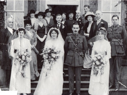 Hilda Starkey marrying Charles Parker