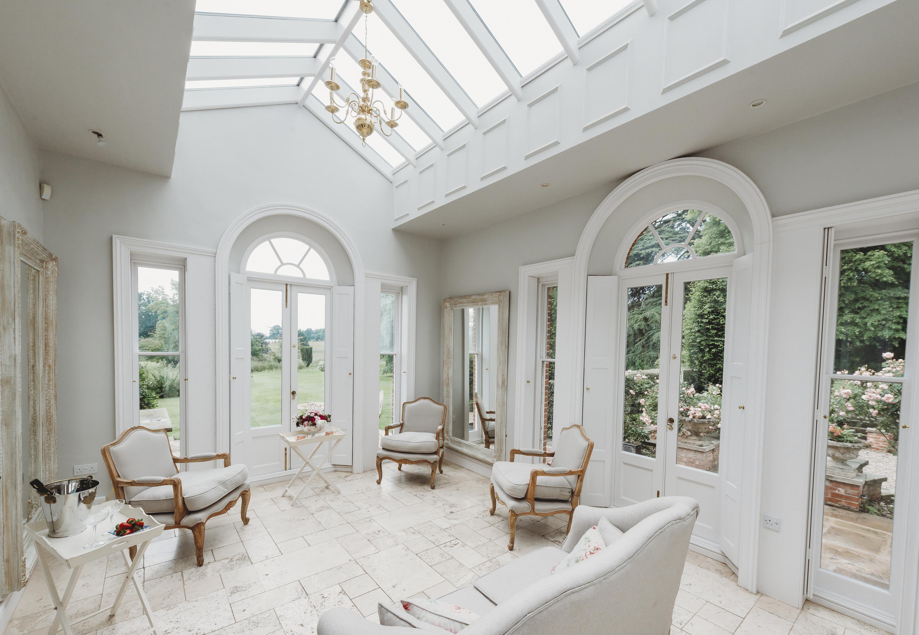 Interior of Bridal Orangery
