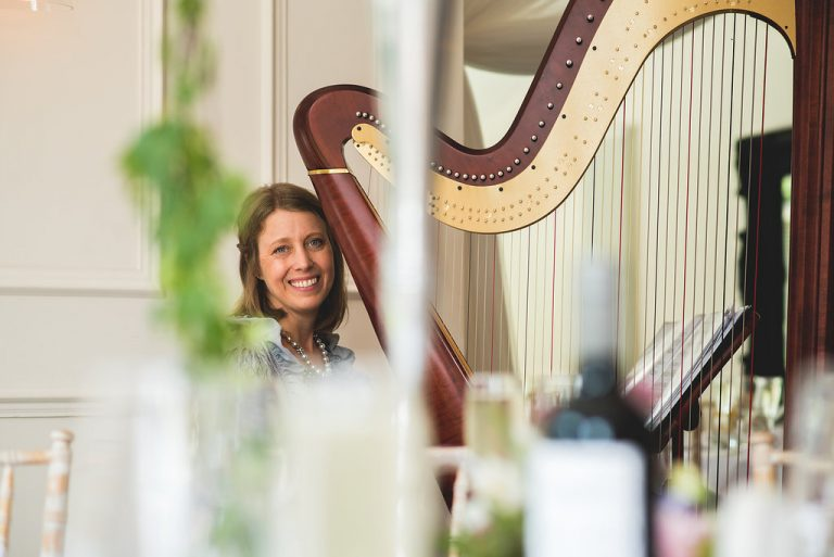 ENTERTAINER: NOTTINGHAMSHIRE HARPIST