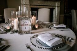 Wedding Breakfast Decorations