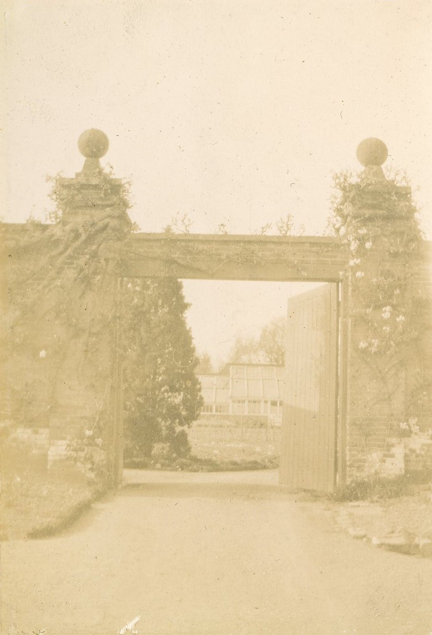 Entrance to Kitchen Garden at Norwood Park