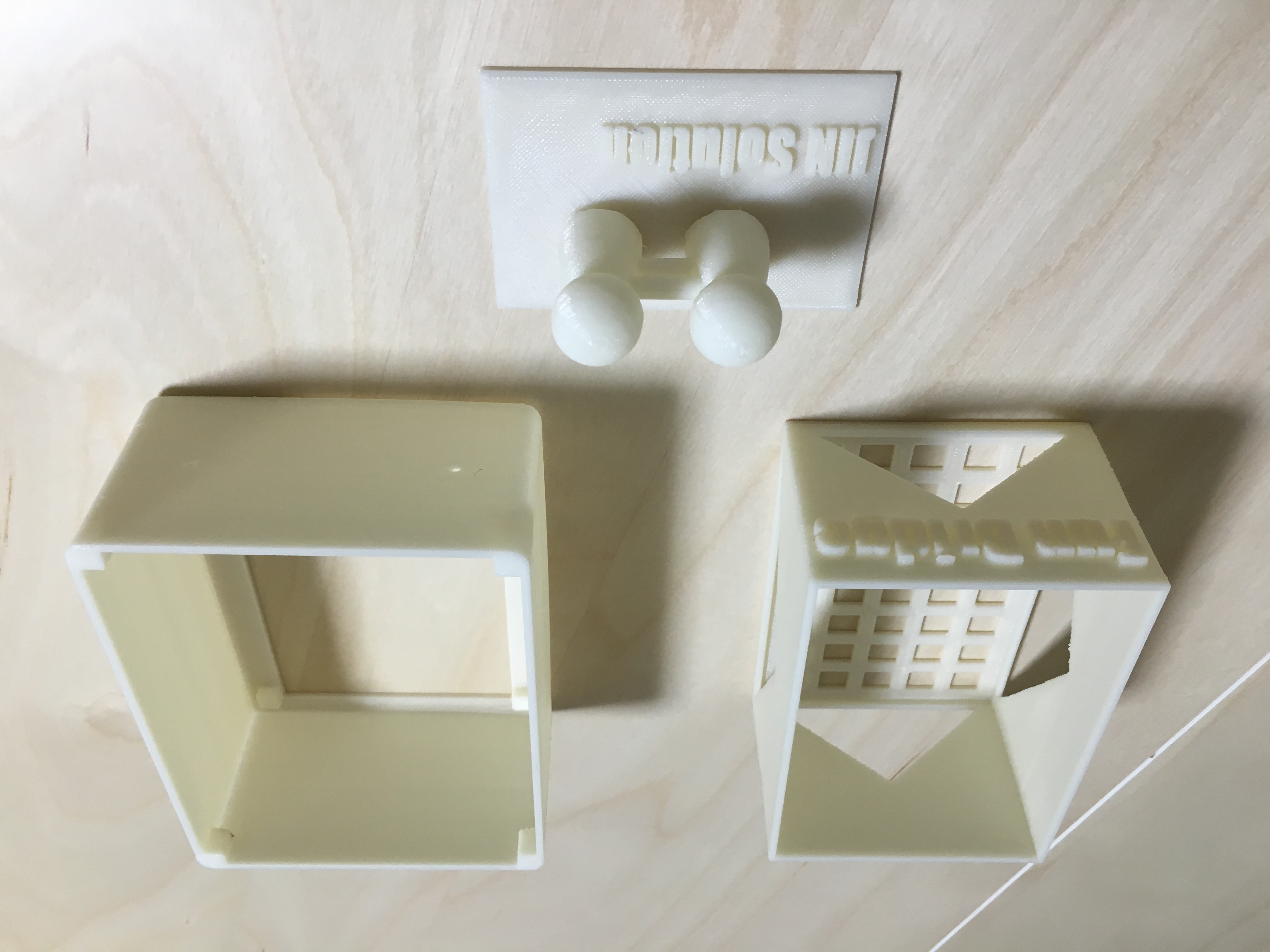 3Dプリントサンプル