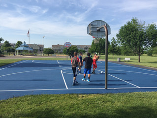 New Basketball Surfaces in Naperville and Wheatland Township, Illinois