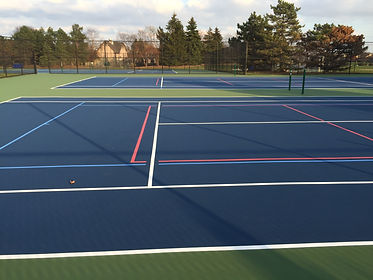 Illinois ProXtreme Cushioned Tennis Courts
