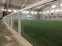 Clear Indoor Sports Walls
