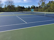 MTJ Sports Central Illinois TitanTrax Shield Tennis Courts