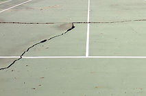 Before Illinois Tennis Court Surface