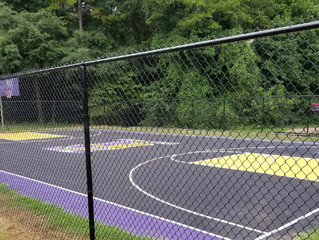 MTJ Sports and Hornets completes new Basketball Court in Charlotte, NC