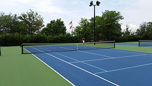 Laykold Masters Outdoor Float Tennis Court System