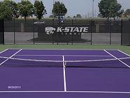 Decatur Illinois Tennis Court Resurfacing