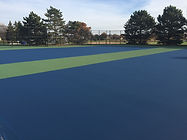 Aurora Illinois Tennis Court Resurfacing