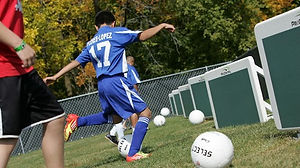Accelerated Soccer Ball Control
