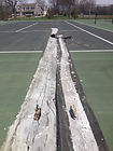 Champaign Illinois Tennis Court Resurfacing