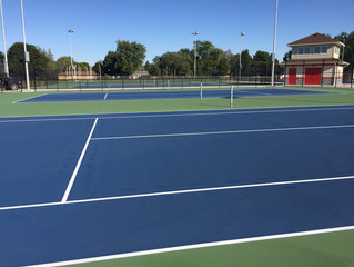 New Tennis Courts for Morton High School, Illinois