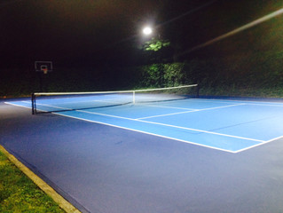 Residential Tennis Court Upgrade