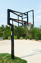 In-Ground Adjustable Hoops, Playground Basketball Goals