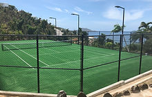 ProXtreme and TitanTrax Shield Tennis Courts
