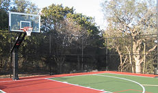 Residential Backyard Sport Court Lighting