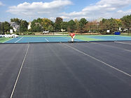 Midwest Titan Trax Shield Overlay Tennis Court Surfaces