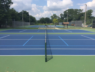 MTJ Sports adds success on Tennis Court upgrades with TitanTrax Shield Systems