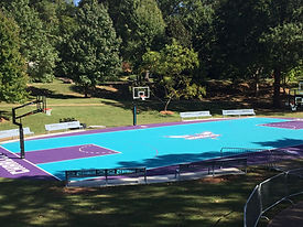 Hornets Outdoor Basketball Court