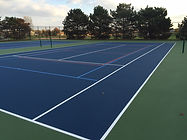 Naperville Chicago Illinois Tennis Court Resurfacing
