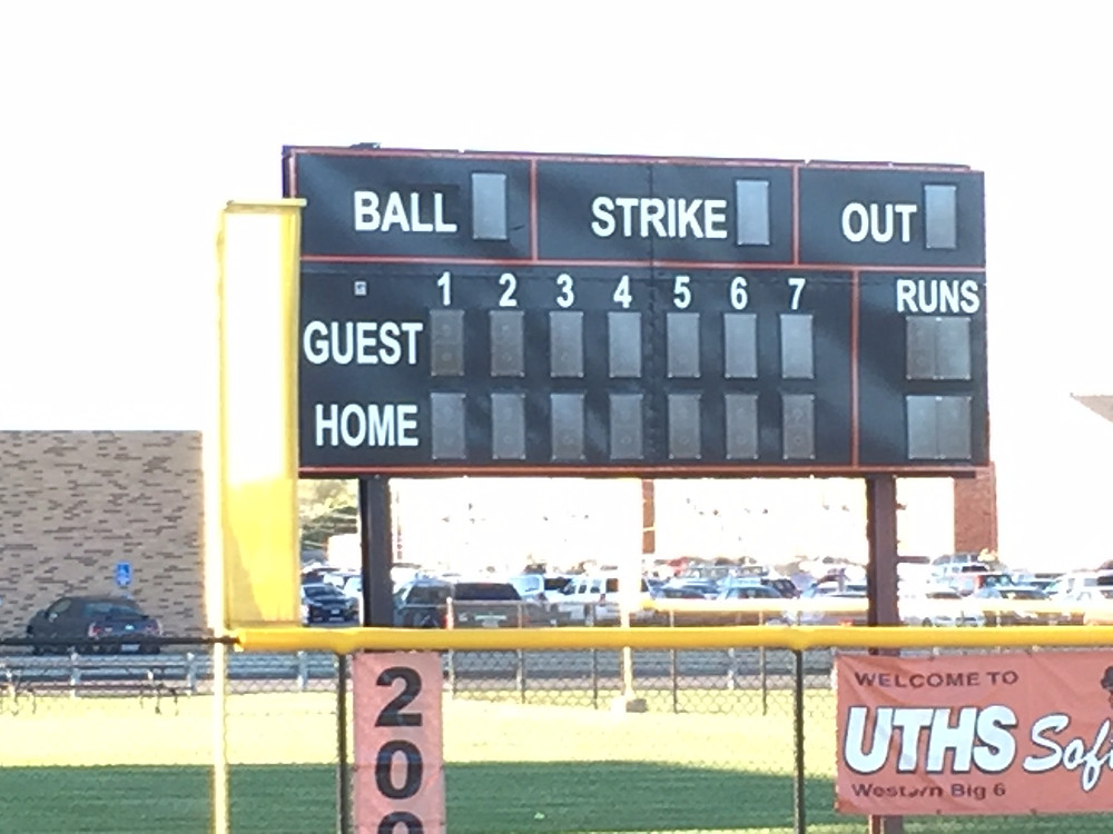 Outdoor Scoreboards for Baseball, Softball, Football, Soccer