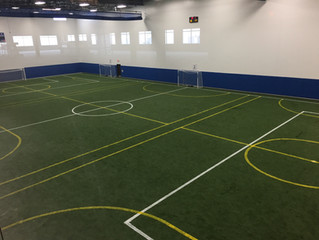 Cadence Indoor Soccer Center completed by MTJ Sports