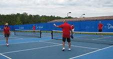 Outdoor Pickleball Court Systems