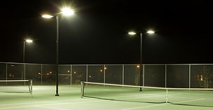 Outdoor Court Lighting, Tennis Court Lighting