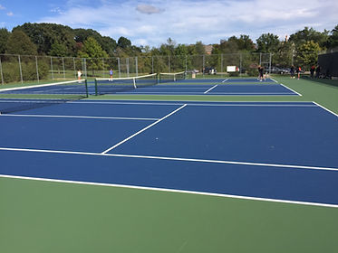 TitanTrax Shield Tennis Court Surface