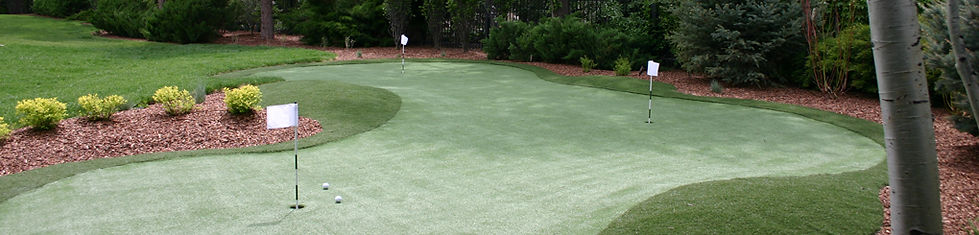 Artificial Golf Greens and Turf