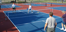 Conversion Tennis to Pickleball Courts
