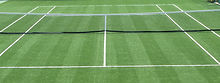 MTJ Sports Chicago Illonois Synthetic Grass Tennis Courts