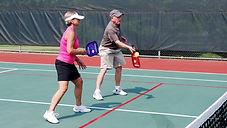 Combination Tennis Pickleball Courts