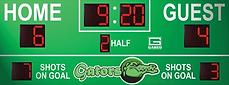 Indoor and Outdoor Soccer Scoreboards