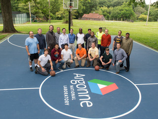 New ProXtreme Basketball Surface for Argonne National Lab Basketball League