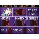 Outdoor Baseball Scoreboards