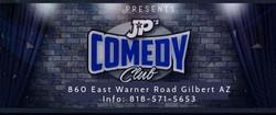 JP's Comedy Club logo