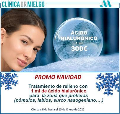 oferta ácido hialurónico Dr. Mielgo Vigo