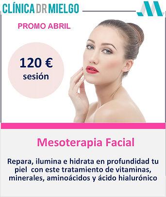 Promo Mesoterapia, Clínica Dr Mielgo, Vigo