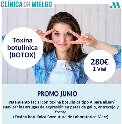 Promoción botox, Vigo, Clínica Dr Mielgo