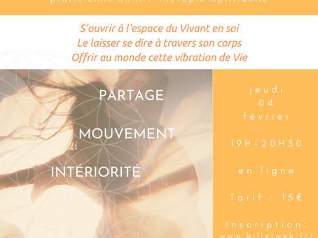 Atelier du Vivant le 4 février 2021