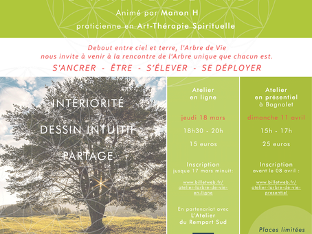 Atelier L'Arbre de Vie 18 mars 2021