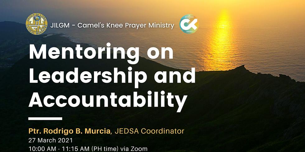 CKPM Mentoring on Leadership & Accountability